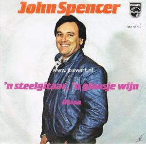 JOHN SPENCER STEELGITAAR GLAASJE WIJN